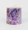 Aapno Rajasthan Multicolour Wax Festive Design Pillar Candle - Set of 2