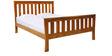 Abel Single Bed in Beige Colour by Tezerac