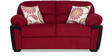 Abu Dhabi Royale Two Seater Sofa in Maroon Colour by Urban Living