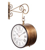 Abbottsmith Wall Clock in Brown by Amberville