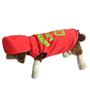 Aberdoggie Dog Hoddie in Red & Green (Size 16)
