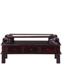 Abhramu Handcrafted Coffee Table in Passion Mahogany Finish by Mudramark
