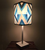 Nutcase Abstract Pattern Multicolour Designer Table Lamp