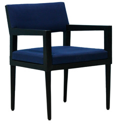 Accent Chair in Blue Colour by FurnitureTech