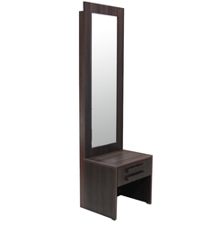 Acura Dressing Table in Dark Walnut Finish by Crystal Furnitech