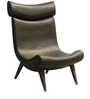 Accent Chair in Black Colour by FurnitureTech