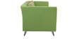 Adelia Three Seater Sofa in Pear Green Colour by CasaCraft