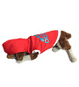 Adidog Dazling Dog hoodie in Red and Blue (Size 22)