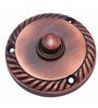 Adonai Hardware Brass 2.4 Inch Round Georgian Bell Push