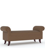 Adrian Lounge Settee in Light Brown Colour by Tezerac