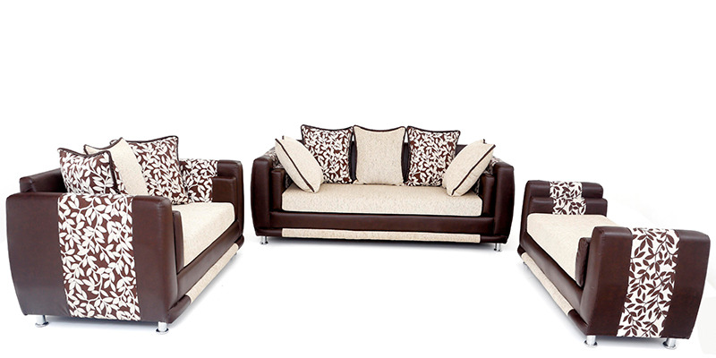 Aesthetic Sofa Set (3 + 2) Seater with Divan by Looking Good Furniture