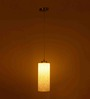 Maracay Ceiling Lamp in White by CasaCraft