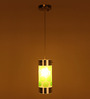 Manaus Ceiling Lamp in Green by CasaCraft