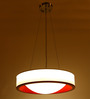 Chrisette Ceiling Lamp in White by Bohemiana