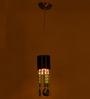 Azealia Ceiling Lamp in White & Black by Bohemiana
