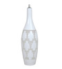 Santa Maria Ceiling Lamp in White by CasaCraft