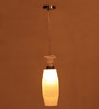 Anastacia Ceiling Lamp in White by Bohemiana