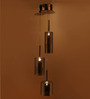 Celano Ceiling Lamp in Brown by CasaCraft