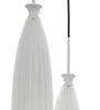 Santa Cruz Ceiling Lamp in White by CasaCraft