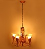 Benford Chandelier in White by Amberville