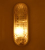 Recife Wall Light in Transparent by CasaCraft