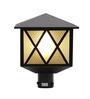 Aesthetics Home Solution Black and White Gate Light