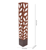 Aesthetics Home Solution contemporary Brown & Off White Plastic Floor Lamp