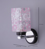 Calascio Wall Light in Pink & White by CasaCraft