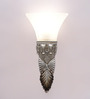 Berkeley Wall Light in White by Amberville