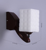 Asuncin Wall Light in White by CasaCraft