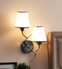 Anabel Wall Light in White by CasaCraft