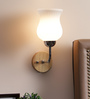 Florianopolis Wall Light in White by CasaCraft