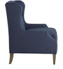 Modern Styled Wing Back Accent Chair by Afydecor