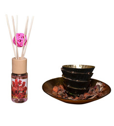 Air Show Rose 30 ML Diffuser Set