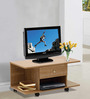 Akira Entertainment Unit cum Coffee Table in Walnut Finish by Mintwud