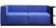 Alfantanes Three Seater Sofa in Blue Colour by Tezerac