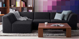 Alia Modular Rhs Sofa Sectional(2 Corner + 1 + 1 Seater)in Black Color by Furny