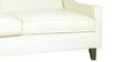 Alia Superb Three Seater Sofa in Cream Colour by Furny