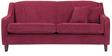 Alia Superb Three Seater Sofa in Maroon Colour by Furny