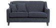 Alia Superb Two Seater Sofa in Bluish Grey Colour by Furny