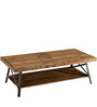 Albert Home Furnishing Chandler Coffee Table in Black & Brown Colour by Asian Arts