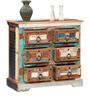 Bonner Chest of Drawers in Distress Finish by Bohemiana
