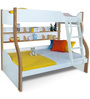 Columbia Bunk Bed in Oak Finish by Alex Daisy