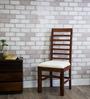 Winona Dining Chair in Warm Walnut Finish by Woodsworth