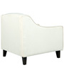 Alia Superb Armchair in Cream Colour by Furny