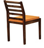 Dallas Ivy Dining Chair in Provincial Teak Finish by Woodsworth