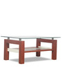 Alice Coffee Table in Cherry Finish by Godrej Interio