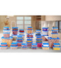 All Time Polka Blue Storage Container - Set of 42