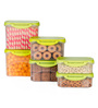 All Time Delite Green Rectangle Storage Container - Set of 6