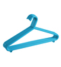 All Time Plastic Blue Hanger 033 - Set of 12